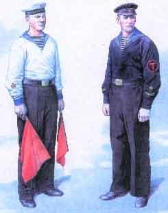Солдаты ВОВ №60 - Краснофлотец в форме № 4, 1943–1945гг.