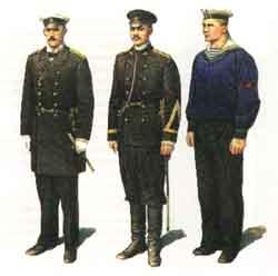 Форма одежды моряков флотилии